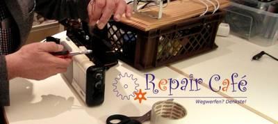 Repair-Café in der Umweltkontaktstelle