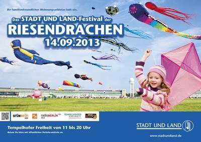 Festival der RIESENDRACHEN auf Tempelhofer Freiheit