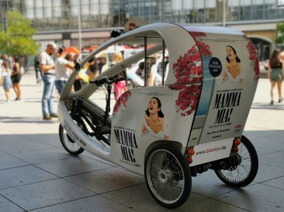 ABBA-Bike-Taxi - Free Ride for Dancing Queens
