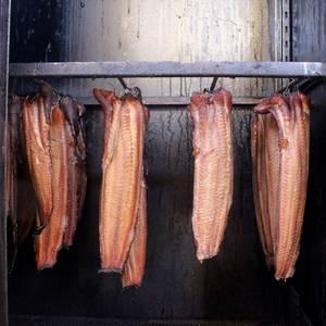 Immer Samstags hat unserer Fischthecke geöffnet.