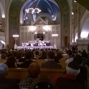 Synagoge Berlin - Rykestrasse,  Freitagabendgottesdienste