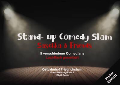Saschka & Friends Comedy Slam Deutsches Open Mic mit Pro...