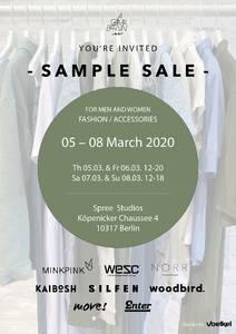 SAMPLE SALE - Berliner Fashion Agency