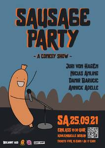 Sausage Party - a Standup Comedy Show - live in Kult-locatio...