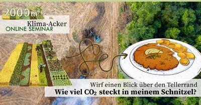 Online-Seminar: Was hat das Schnitzel mit dem Regenwald zu t...