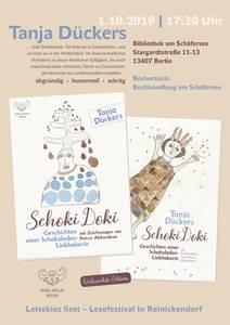 """Lesung mit Tanja Dückers """"Schoki Doki - Geschichten einer Sc..."""