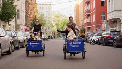 E-Lastenrad, E-Cargobike, Avocargo Sommerfest