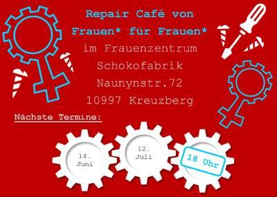 Repair Café von Frauen* für Frauen*