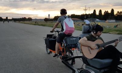 Rollendes Fahrradkonzert auf Tempelhofer Feld (Do.22.10)