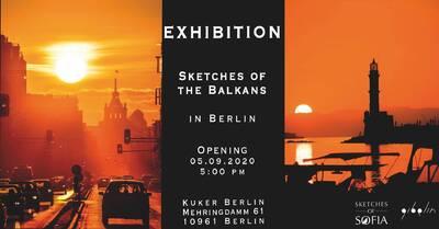 "Ausstellung/Exhibition ""Sketches of the Balkans""  ..."