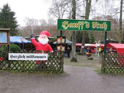 Eingang zum Adventsmarkt