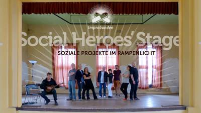 Improbanden: Social Heroes' Stage mit agbe & c-base