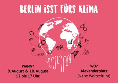 Berlin isst fürs Klima - kostenlose Mitmachaktion auf dem Al...