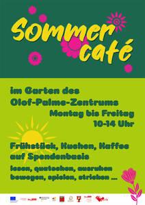 Plakat Sommercafé OPZ