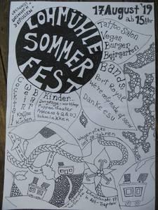 Sommerfest auf der Wagenburg Lohmühle