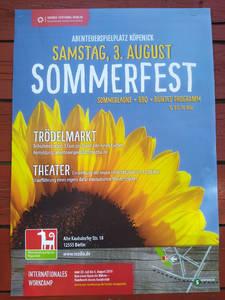 Sommerfest mit Trödelmarkt und Theater auf dem Abenteuerspie...