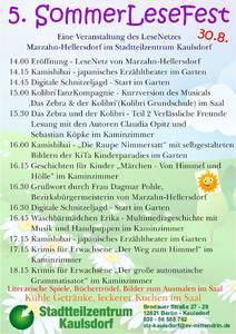 Sommerlestfest im Stadtteilzentrum Kaulsdorf