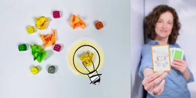 Workshops für Spiele-Erfinder - mit Anja Wrede in der Helene...