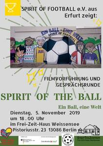 Spirit of the Ball: Filmvorführung und Gesprächsrunde