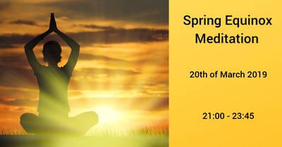 Spring Equinox Meditation 2019