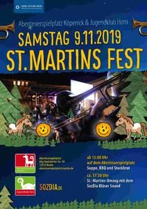 St. Martinsfest auf dem Abenteuerspielplatz Köpenick