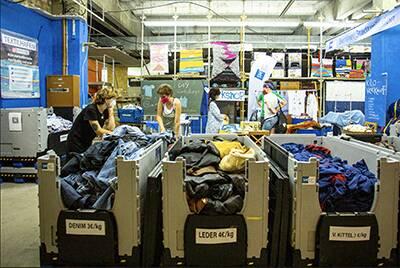 Textiler Materialpool