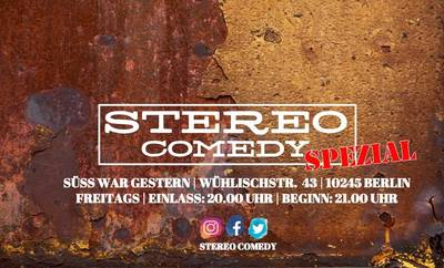 Stereo Comedy Spezial - Stand up Comedy Showcase - 22.11.201...