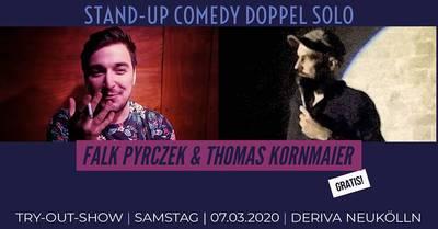 Stand Up Comedy Doppel-Solo: Falk Pyrczek & Thomas Kornm...
