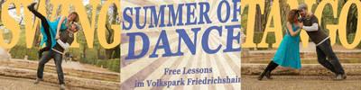 Gratis Swing und Tango lernen - Summer of Dance - Open Air L...