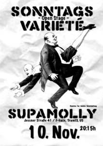 SonntagsVarieté - Supamolly - F-hain