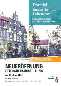 Dorfidyll - Industriestadt – Lebensort - eine Ausstellung zu...