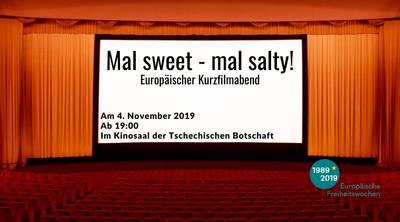 Europäischer Kurzfilmabend: Mal sweet – mal salty!
