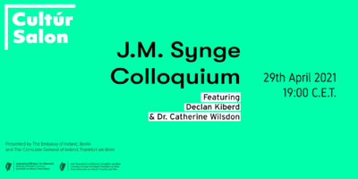 Launch of the new Cultúr Salon Series with a Colloquium on J...