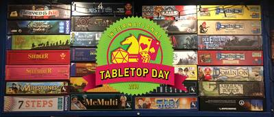 international Tabletop Day 2019