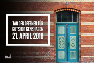 Gratis in berlin tag der offenen t r gutshof genshagen for Tag der offenen tur berlin
