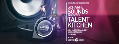Talent Kitchen: Gropius Passagen und der Spotlight Talent e....