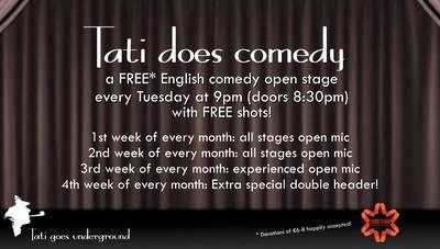 Tati does Comedy