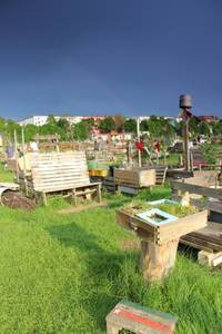 Tempelhofer Feld in Neukölln – Ehemaliges Flugfeld