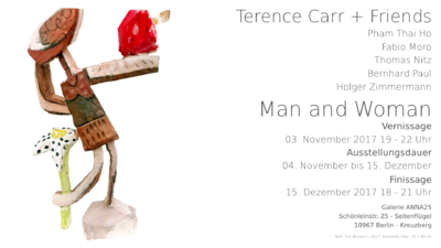 Terence Carr + Friends - Man and Woman | Ausstellung