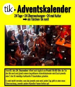 Begehbarer tik-Adventskalender in Friedrichshain