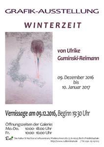 Vernissage 09.12.2016 Ulrike Guminski Ausstellung Kunst in B...
