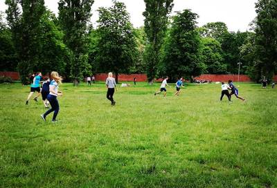 Ultimate Frisbee & Freestyle at Tempelhof Field - Sunday...