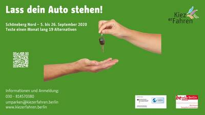 Lass dein Auto stehen! - Umparkerkampagne in Schöneberg Nord