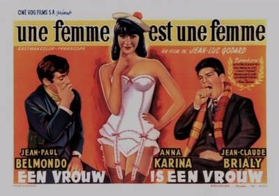 Screening: Une femme est une femme // 1961 // by Jean-Luc Go...