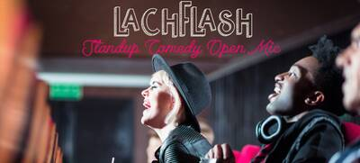 Lachflash Comedy - Stand-Up Comedy in Berlin - direkt am Sen...
