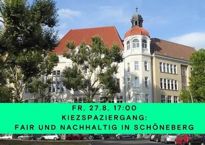 Kiezspaziergang: Fair und nachhaltig in Schöneberg