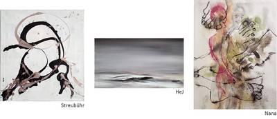 Gemäldeausstellung: EigenSinnlIch