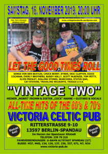 """Let the good times roll mit """"Vintage Two"""" - All-Ti..."""