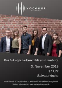 Konzert mit dem Vocoder Ensemble