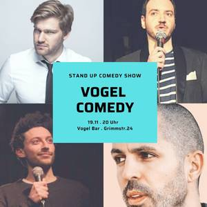 Live Stand Up Comedy im Gräfekiez